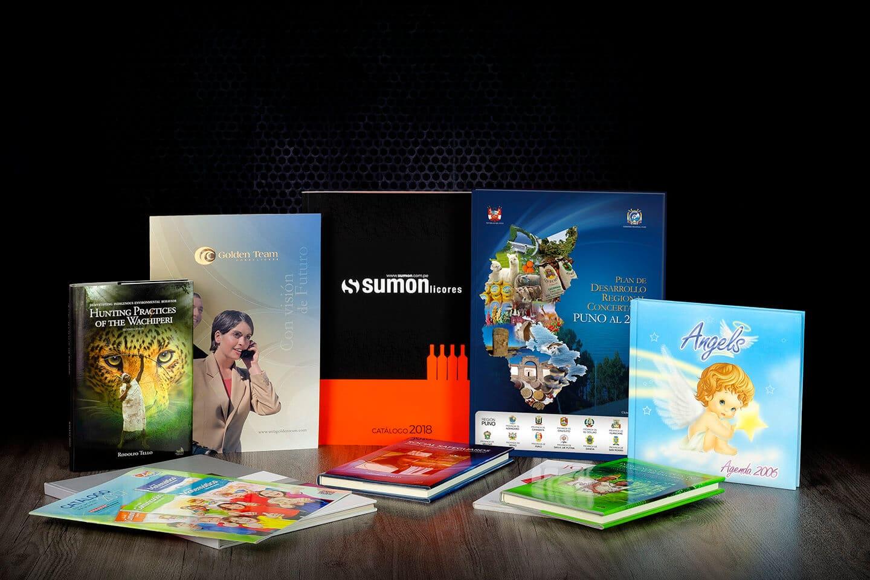 Impresión y Diseño de Libros y Catálogos